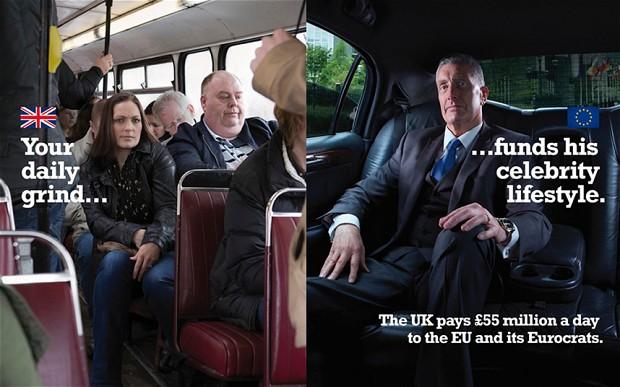 Predvolebný plagát UKIP