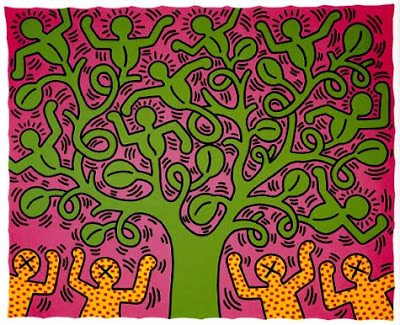 Keith Haring - The Tree of Life