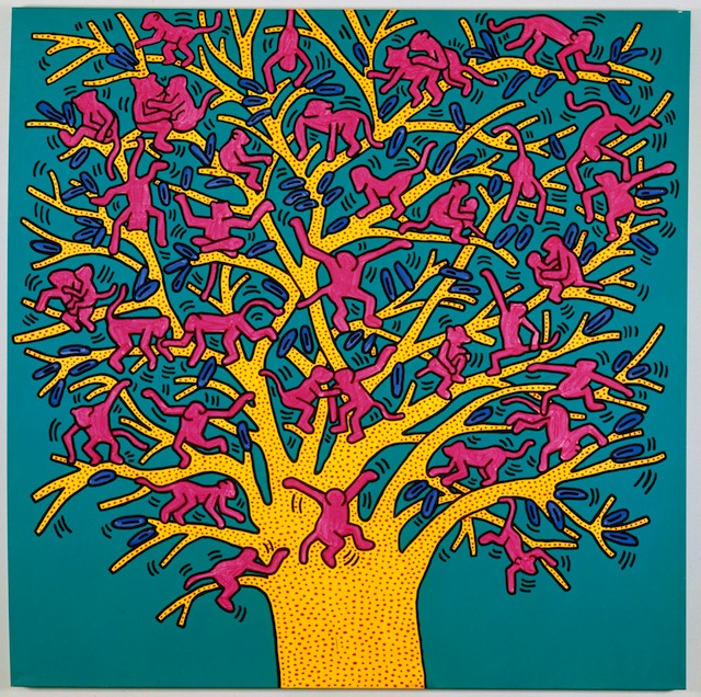 Keith Haring - The Tree of Moknkyes
