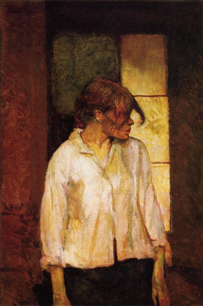 Henry Toulouse-Lautrec - At Montrouge Rosa la Rouge