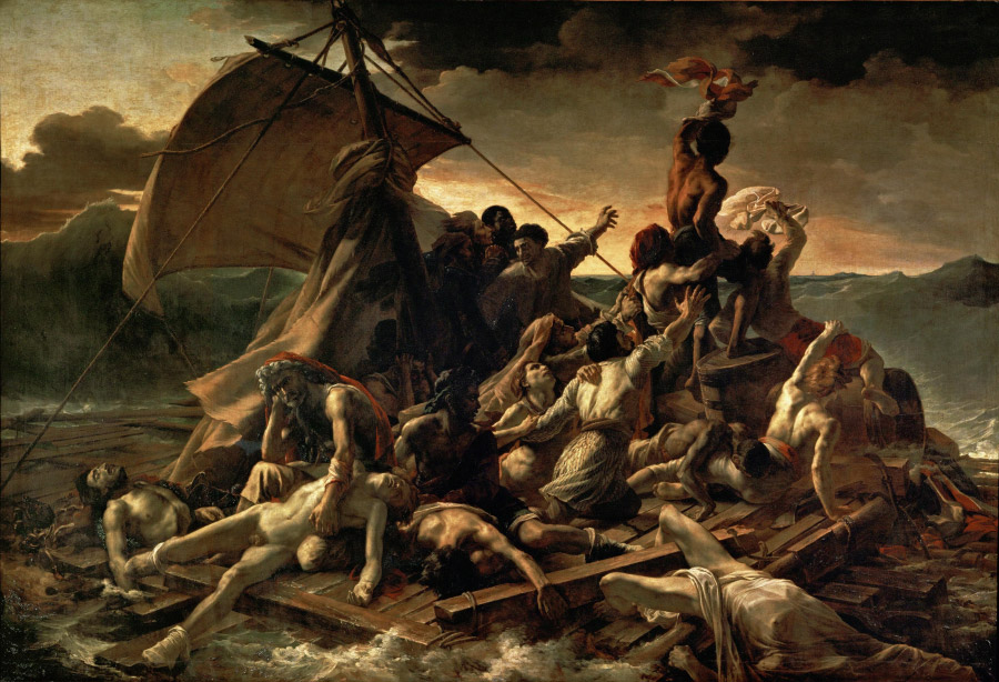 Théodore Géricault – Vor Medúzy