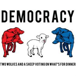 Veľký štát + demokracia = smrteľná kombinácia