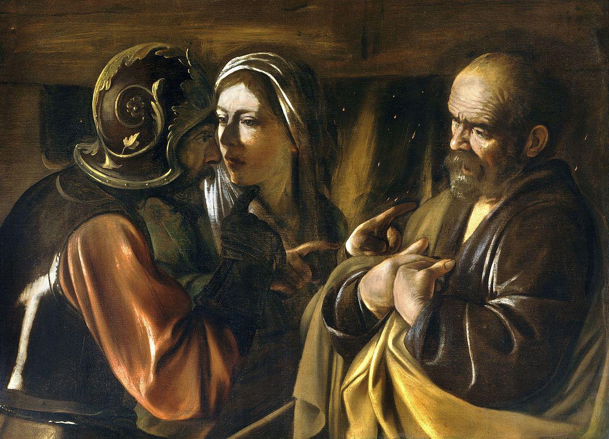 Caravaggio, Petrovo zaprenie Krista